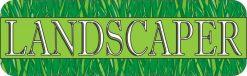 Landscaper Vinyl Sticker