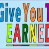 I Did Not Give Grade You Earned It Vinyl Sticker