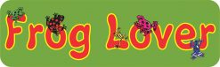 Frog Lover Bumper Sticker