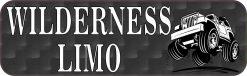 Wilderness Limo Bumper Sticker