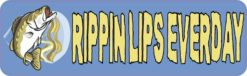 Rippin Lips Bumper Sticker