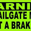 I Will Conduct a Brake Check Magnet