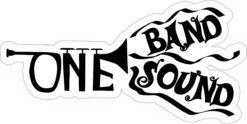 Trumpet One Band One Sound Sticker