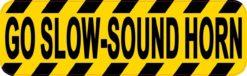 Go Slow Sound Horn Magnet