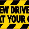 New Driver Follow At Your Own Risk Magnet