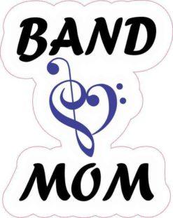 Blue Band Mom Sticker