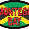 Oval Jamaican Flag Montego Bay Sticker