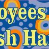 Circles Employees Must Wash Hands Sticker