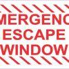 Emergency Escape Window Magnet