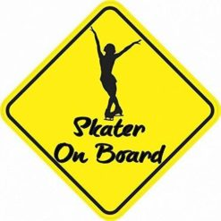 Skater On Board Sticker