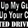 I'll Give Up My Gun When You Give Up Your Cell Phone Magnet