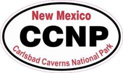 Oval Carlsbad Caverns National Park Sticker