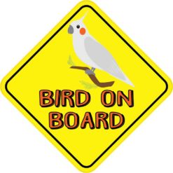 Bird On Board Magnet