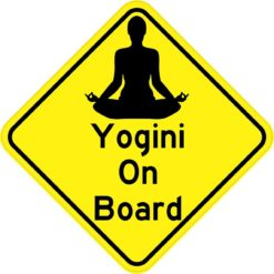 Yogini On Board Magnet