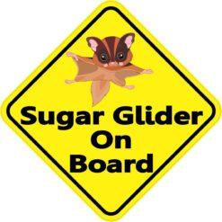 Sugar Glider On Board Sticker