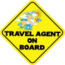 Travel Agent On Board Magnet