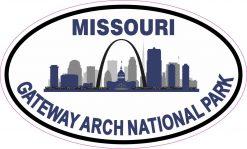 Gateway Arch National Park Sticker