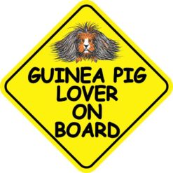 Guinea Pig Lover on Board Magnet