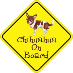 Chihuahua On Board Sticker