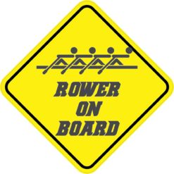 Rower On Board Magnet