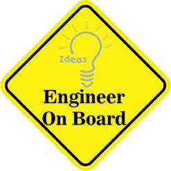 Engineer On Board Magnet
