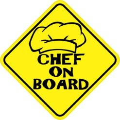 Chef On Board Magnet