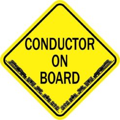 Train Conductor On Board Magnet