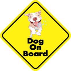 Dog On Board Magnet
