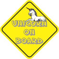 Unicorn On Board Magnet