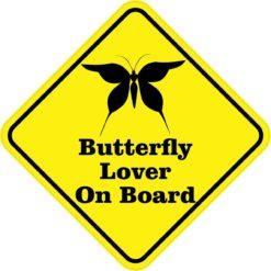 Butterfly Lover On Board Magnet