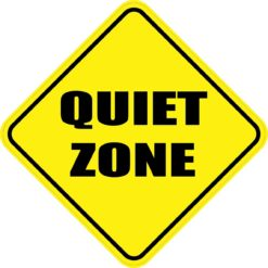 Quiet Zone Sticker
