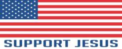 Support Jesus Magnet