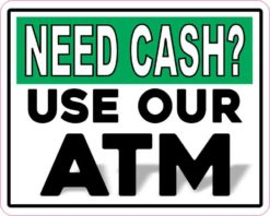 Use Our ATM Magnet