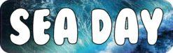 Sea Day Sticker