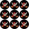 Jolly Roger Pirate Flag Stickers