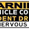 Student Driver and Nervous Parent Bumper Sticker