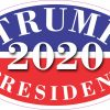 Oval Presidential Election 2020 Vinyl Sticker