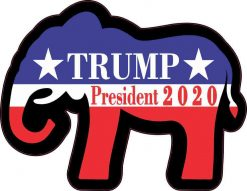 Elephant Trump President 2020 Sticker