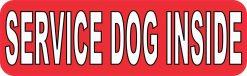 Service Dog Inside Sticker