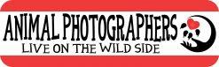 Animal Photographers Bumper Sticker