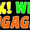 Honk We Are Engaged Bumper Sticker