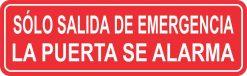Sólo Salida de Emergencia Sticker