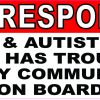Epileptic and Autistic Person on Board Sticker