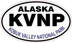 Oval Kobuk Valley National Park Sticker
