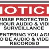 Audio and Video Surveillance Magnet