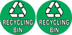 Recycling Bin Stickers