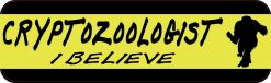 Cryptozoologist I Believe Magnet