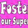 Im a Foster Mom Vinyl Sticker