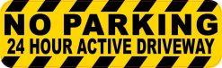 No Parking Vinyl Sticker