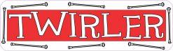 Twirler Vinyl Sticker